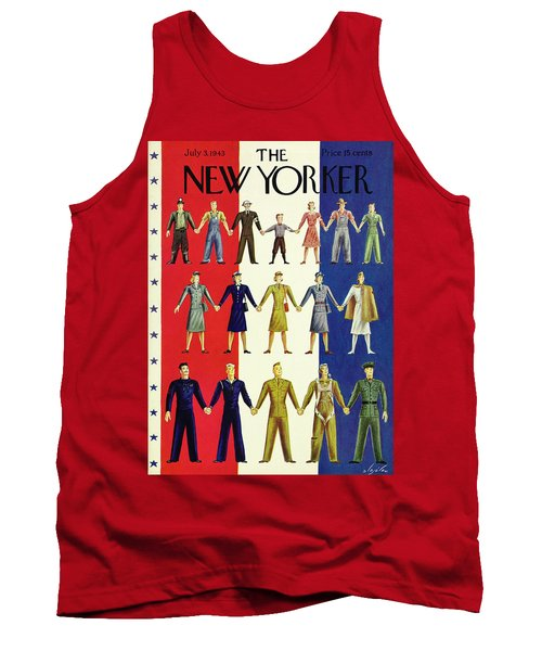 New Yorker July 3rd 1943 Tank Top