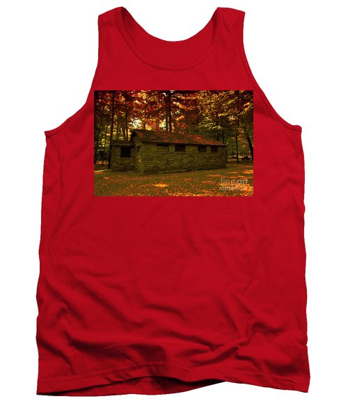 Old Stone Structure Tank Top
