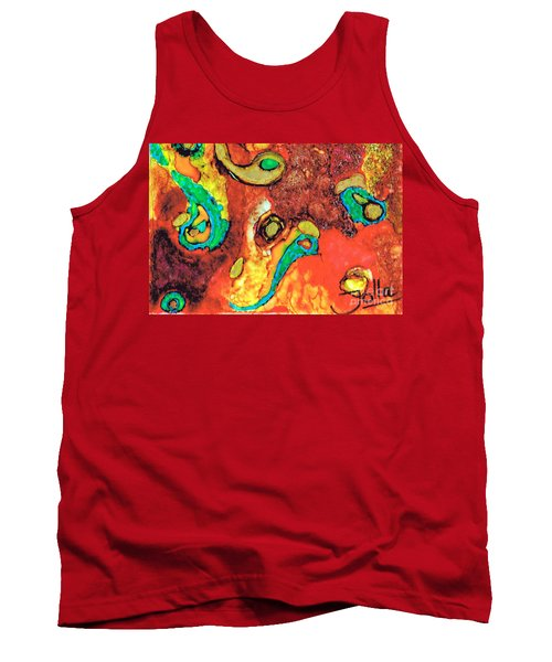 Paisley Whispers.. Tank Top