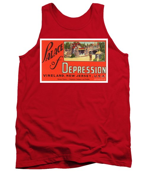 Palace Of Depression Tank Top