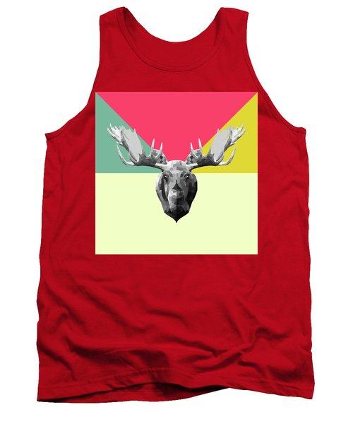 Party Moose Tank Top