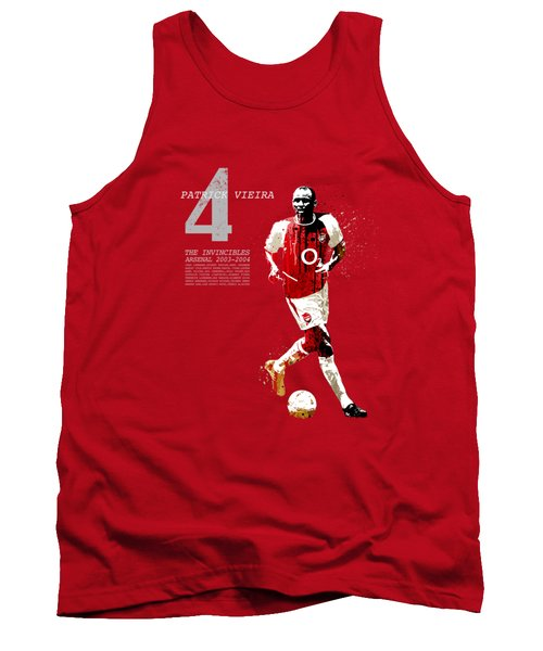 Patrick Vieira - Invincibles Arsenal Tank Top