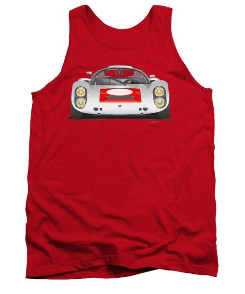 Porsche 910 No Background Tank Top