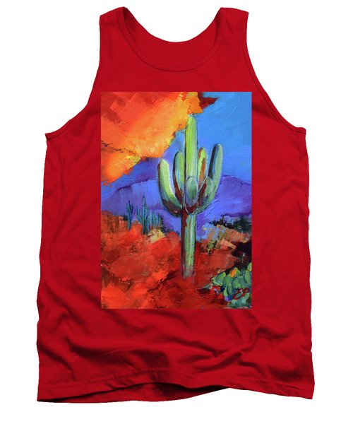 Under The Sonoran Sky By Elise Palmigiani Tank Top