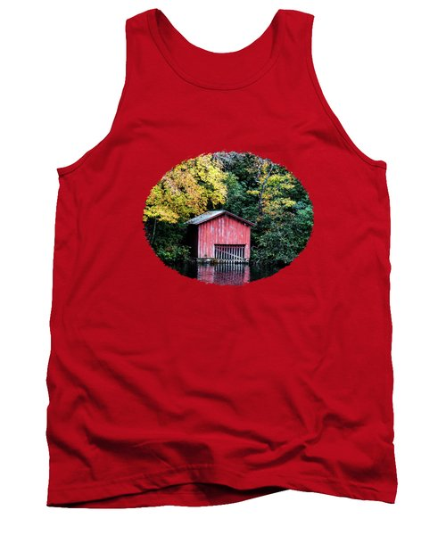 Red Boathouse Tank Top