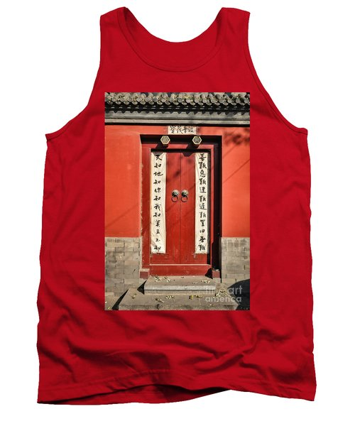 Red Door Tank Top