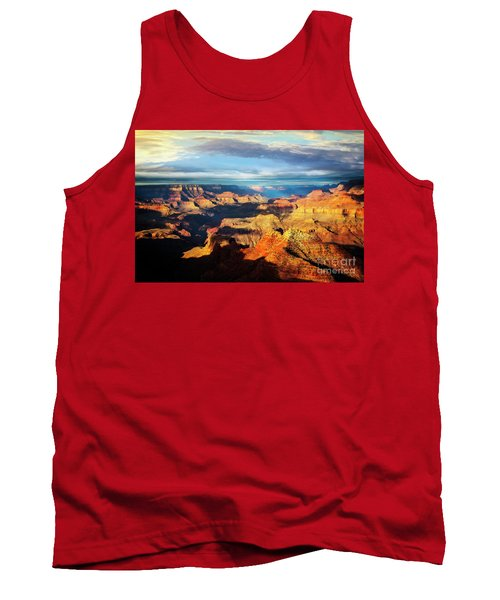 Tank Top featuring the photograph Rim To Rim by Scott Kemper