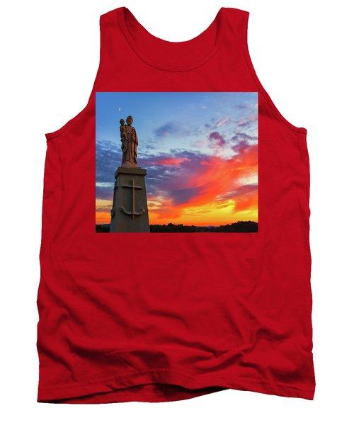 Saint Joseph Sunset  Tank Top