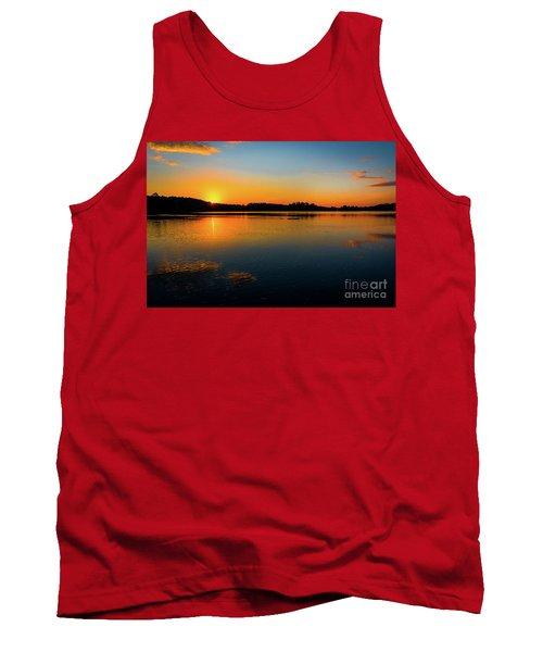 Savannah River Sunrise - Augusta Ga Tank Top