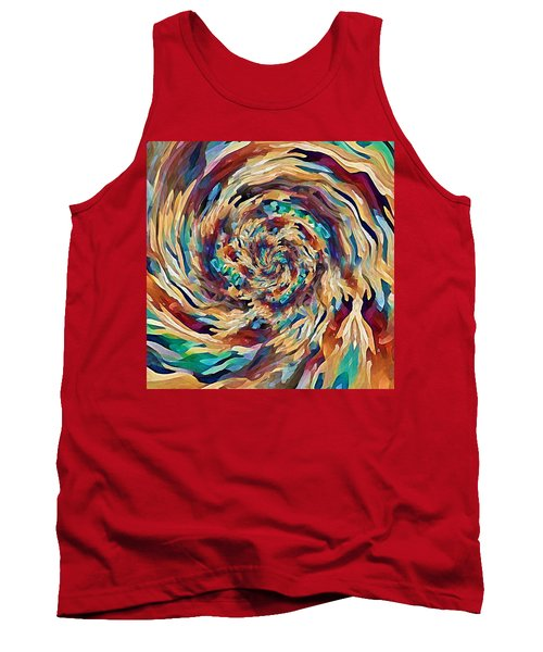 Sea Salad Swirl Tank Top