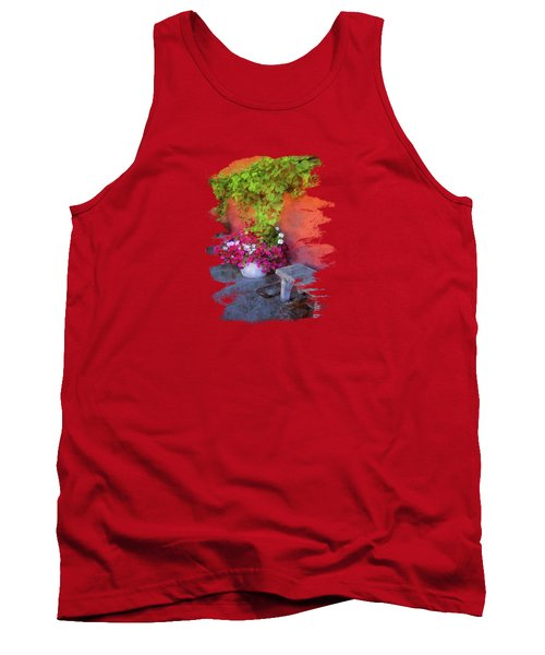 Sidewalk Floral In Brownsville Tank Top
