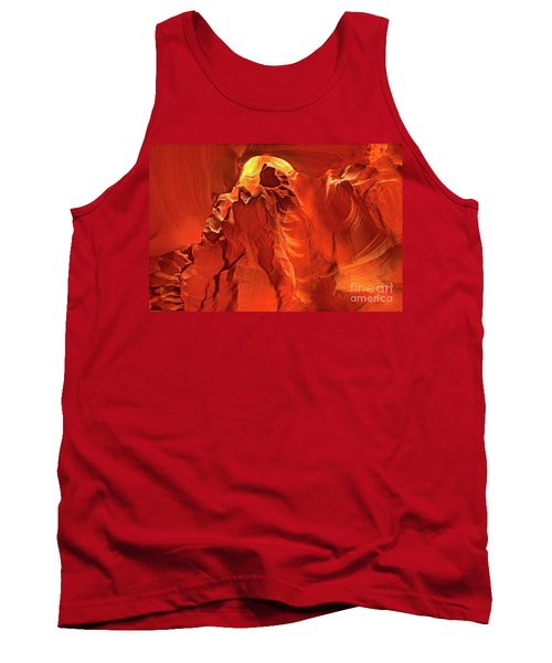 Slot Canyon Formations In Upper Antelope Canyon Arizona Tank Top