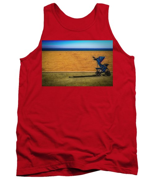 Stroller At The Beach Tank Top