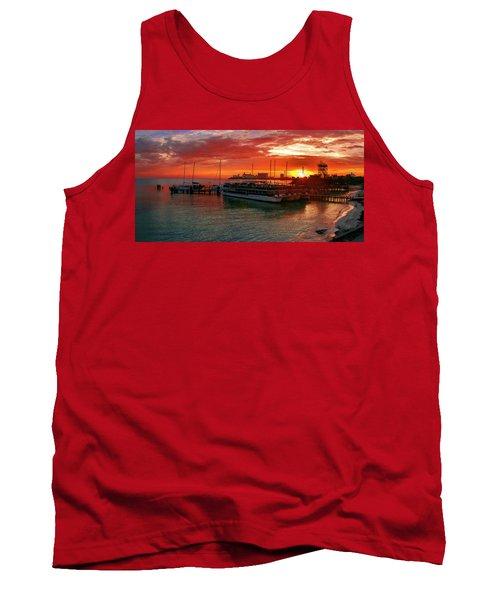 Sunrise In Cancun Tank Top