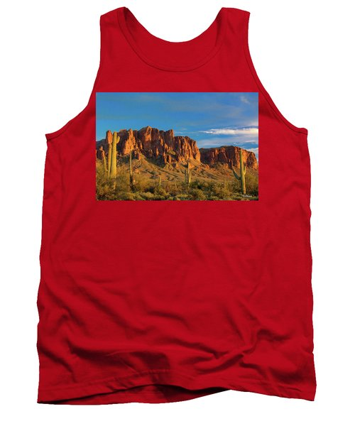 Sunset At Superstition Mountain Tank Top
