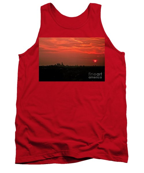 Sunset Over Philly Tank Top