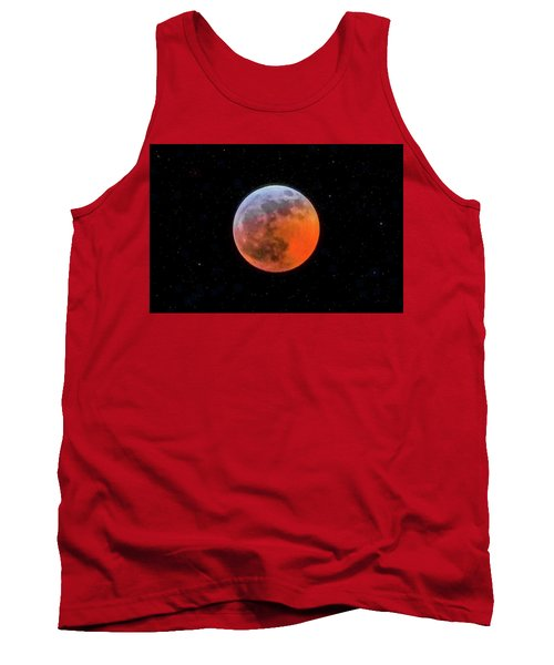 Super Blood Moon Eclipse 2019 Tank Top