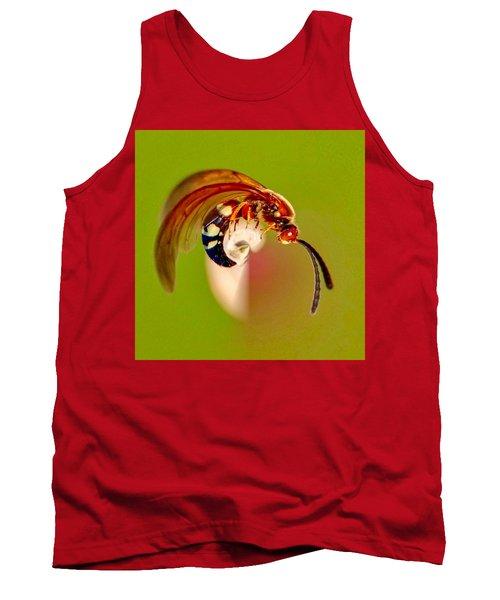 Swirly Wasp Tank Top