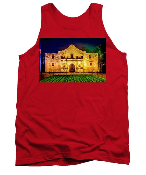 Te Alamo At Night Tank Top