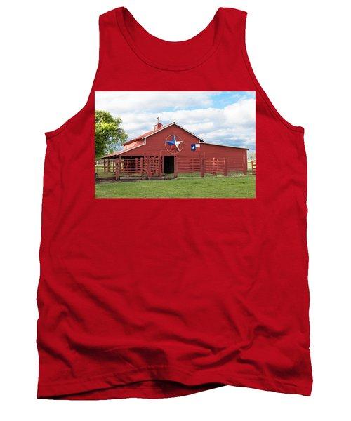 Texas Red Barn Tank Top