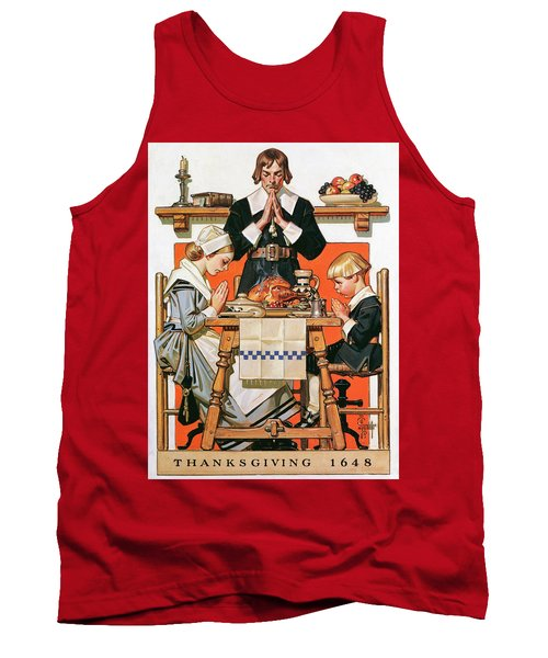 Thanksgiving Day 1648 - Digital Remastered Edition Tank Top