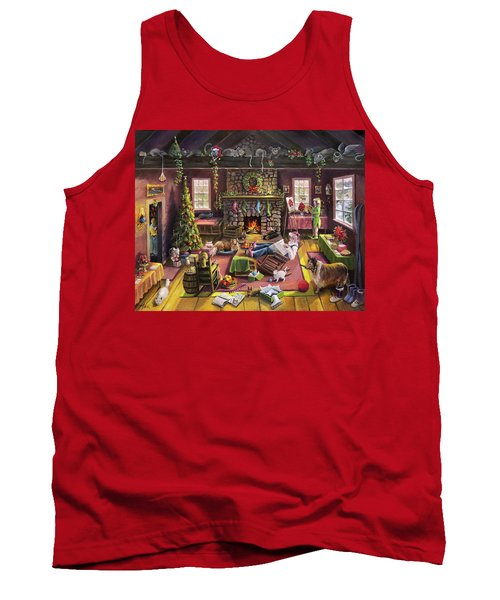 The Micey Christmas Heisty Tank Top