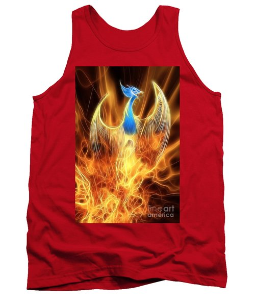 The Phoenix Rises From The Ashes Tank Top