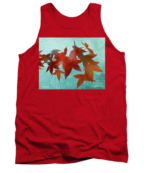 The Red Leaves Tank Top