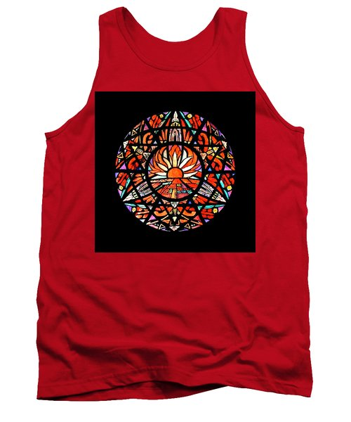 the Sun is Aflame Tank Top