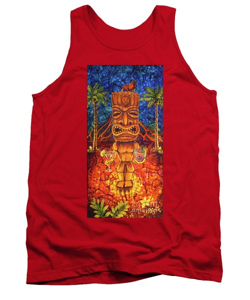 Tiki Cocktail Hour Tank Top