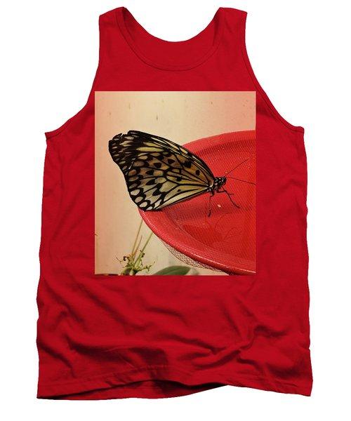 Torn Butterfly Tank Top