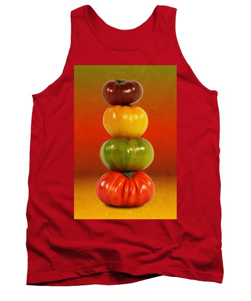 Tower Of Colorful Tomatoes Tank Top
