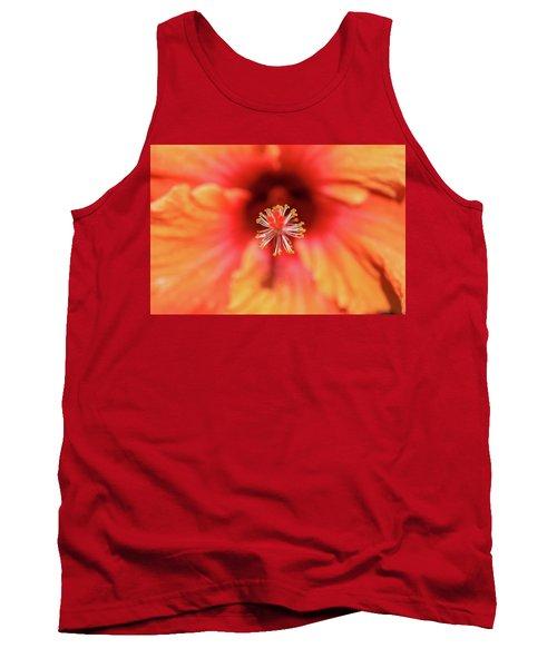 Tropical Hibiscus  Tank Top