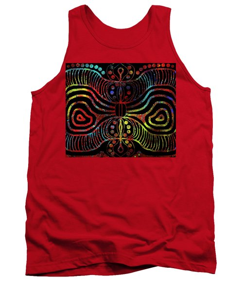 Under The Sea Digital Patterns Of Life Tank Top