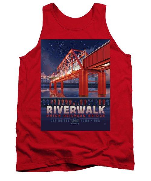 Union Railroad Bridge - Riverwalk Tank Top