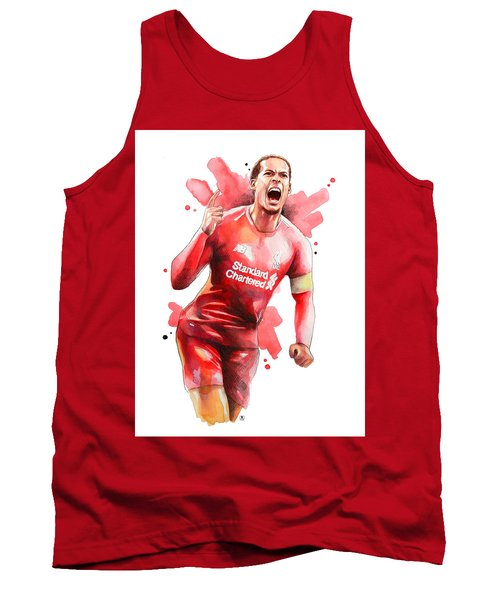Virgil Van Dijk, Liverpool Tank Top