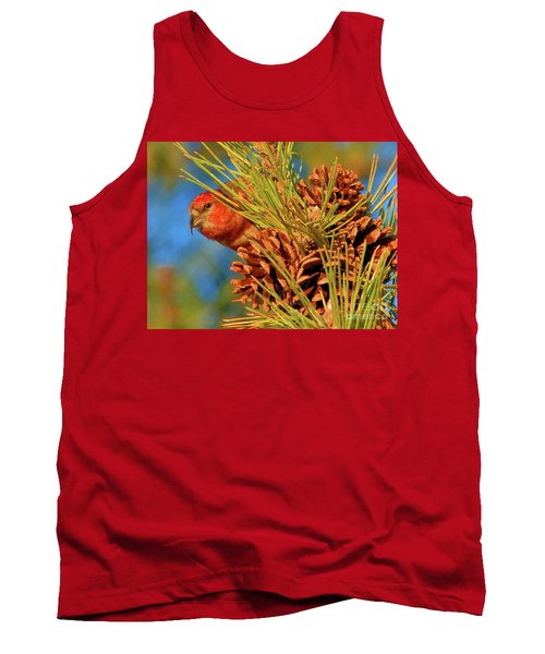 White-winged Crossbill Tank Top