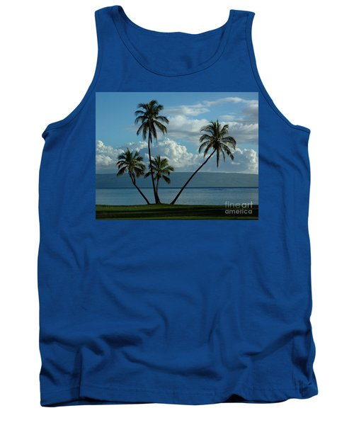 A Little Bit Of Paradise Tank Top by Vivian Christopher