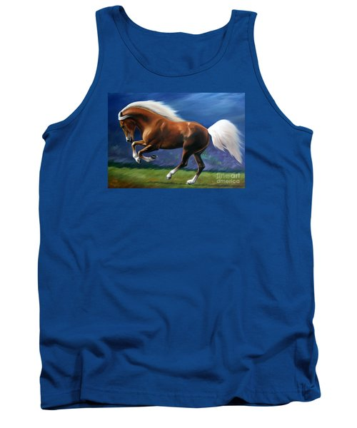 Magnificent Power And Motion Tank Top by Vivien Rhyan