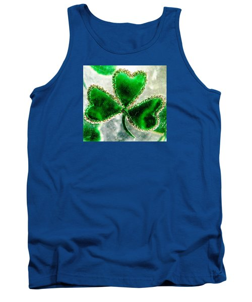 A Shamrock On Ice Tank Top
