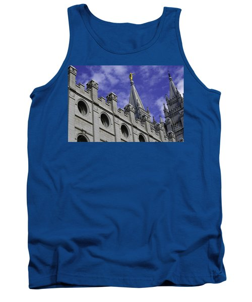 Angel On The Temple Tank Top