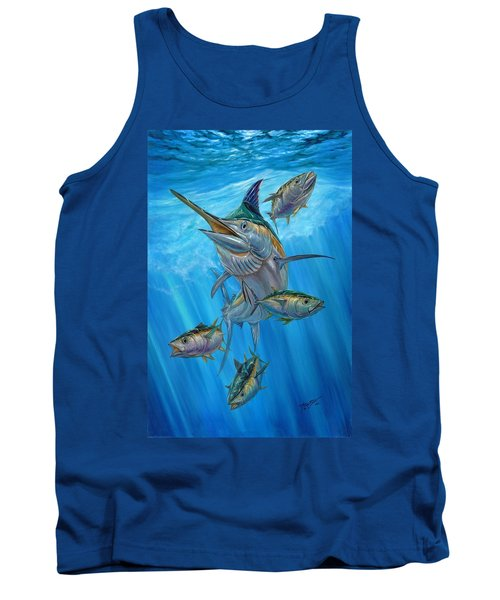 Black Marlin And Albacore Tank Top