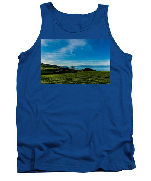 Field Of Tea Tank Top