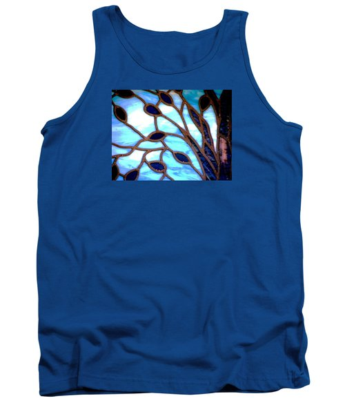 Gettysburg College Chapel Window Tank Top