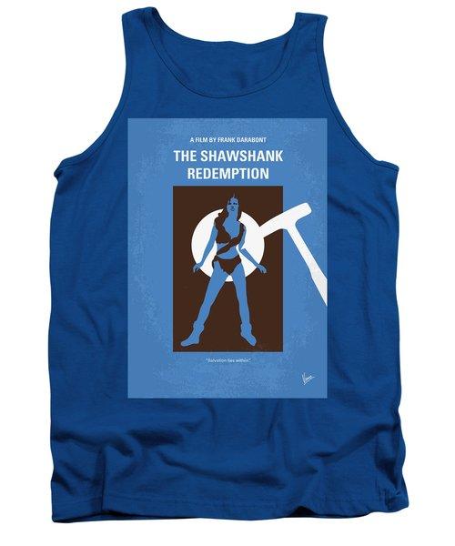 No246 My The Shawshank Redemption Minimal Movie Poster Tank Top