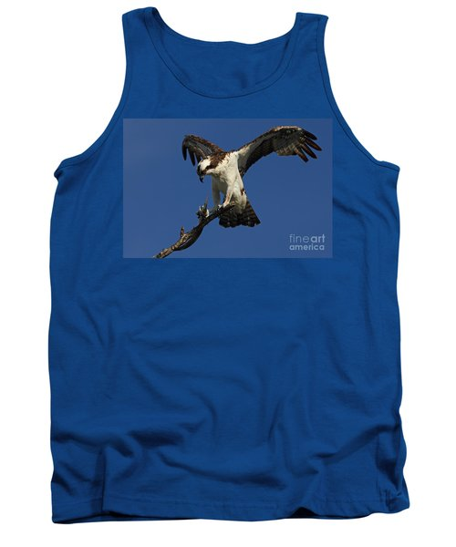 Osprey With A Fish Photo Tank Top