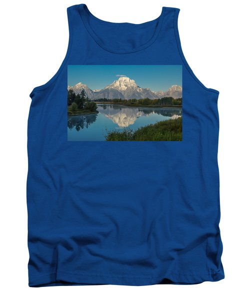 Reflections Of Mount Moran Tank Top