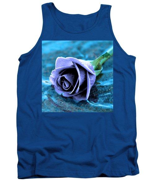 Rose In Water  Tank Top