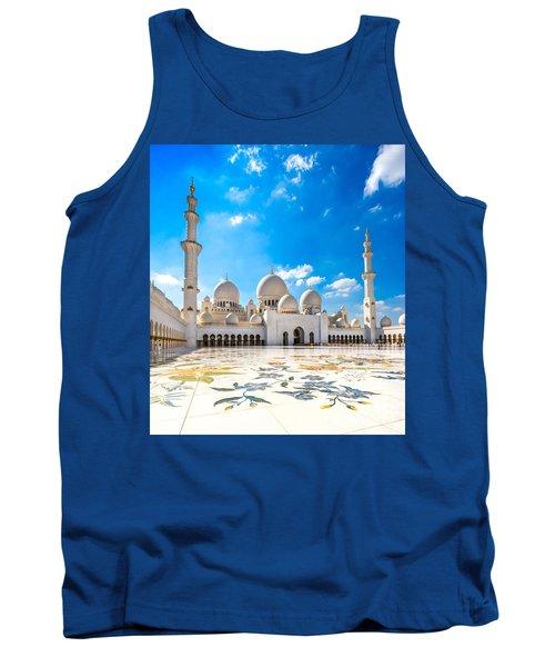 Sheikh Zayed Mosque - Abu Dhabi - Uae Tank Top