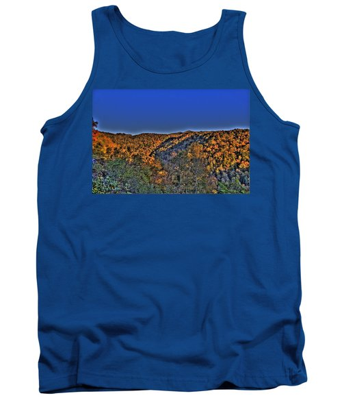 Tank Top featuring the photograph Sun On The Hills by Jonny D